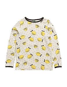 T-shirt LS. Lemon - CREAM