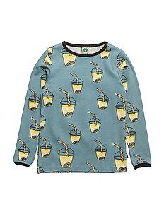 T-shirt LS. Lemonade drink - STONE BLUE
