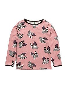 T-shirt LS. Raccon - BRIDAL ROSE