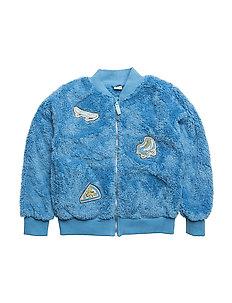 Fleece zipper - Stone Blue