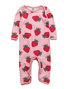 Body Suit. Strawberry - SILVER PINK