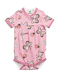 Body SS. Butterfly - SILVER PINK
