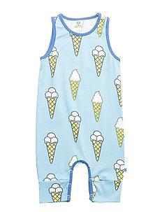 Body Suit NS/SL. Ice cream - AIR BLUE