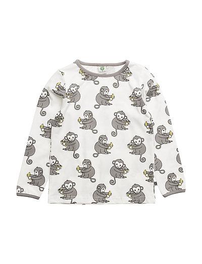 9526ffcaf68946 Småfolk T-shirt Longsleeve (Cream)