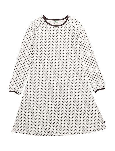 Dress LS. miniApple - CREAM