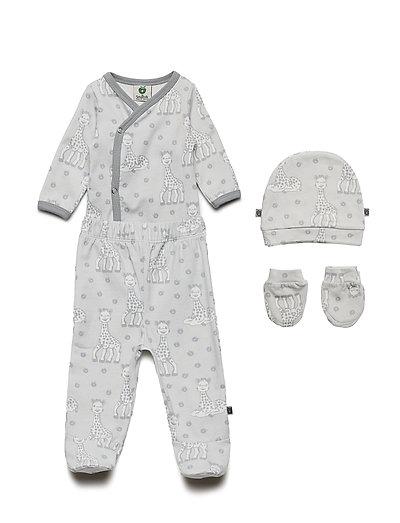 Newborn set Sophie La girafe - DAWN BLUE