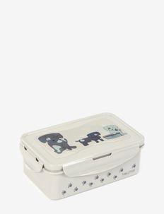 Lunchbox, Large, Sausage Dog - eväsrasiat - grey/blue