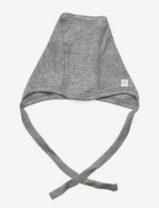 Baby hat - babyhuer - light grey