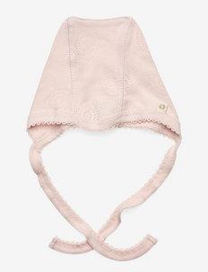 Baby hat - babyhuer - soft rose