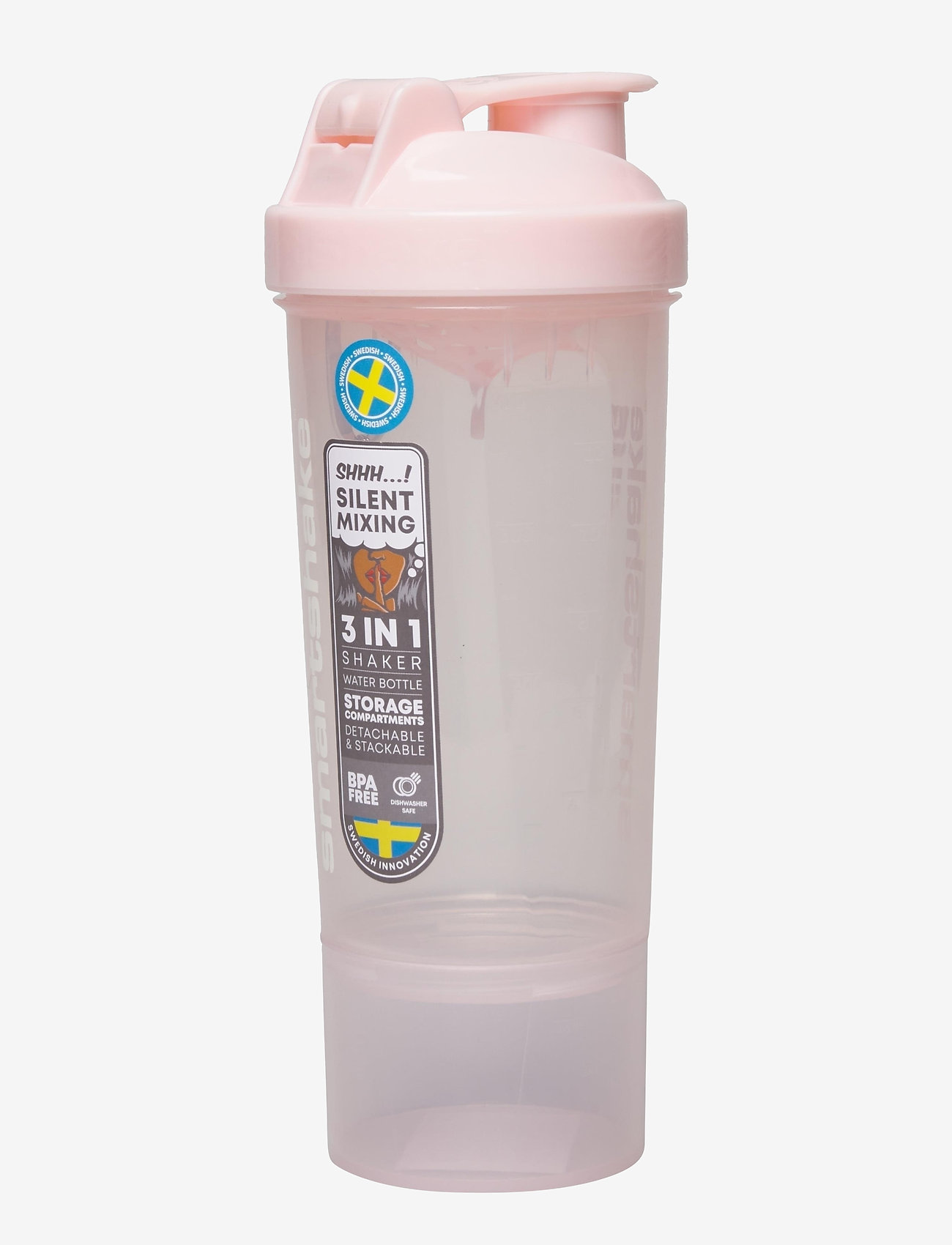 Smartshake - SLIM - vannflasker og termoser - cotton pink (light lavendel) - 1