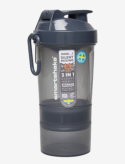 Smatshake Original2GO - vannflasker og termoser - space gray (dark gray)