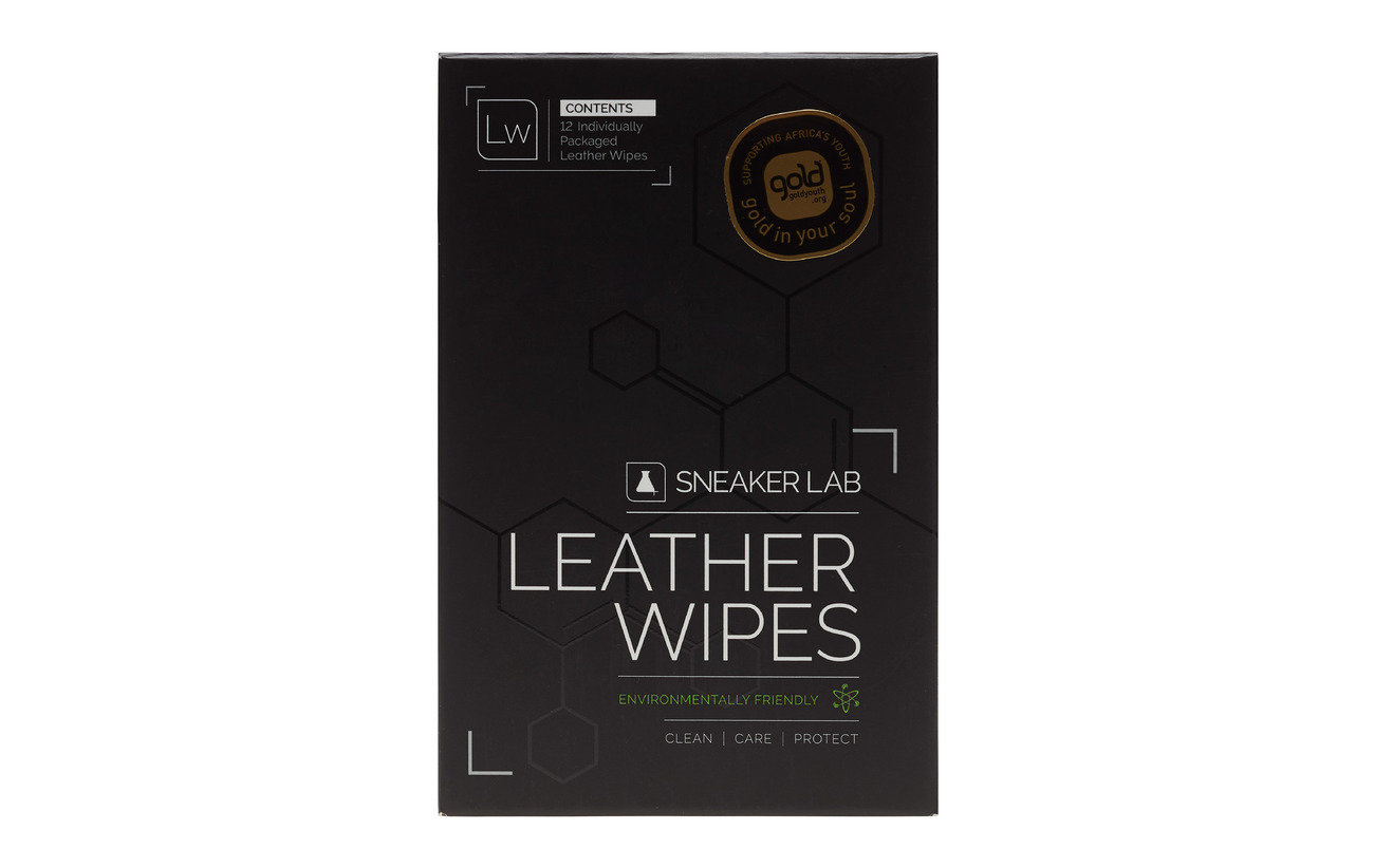 Sneaker Lab LW-Leather Wipes - BLACK