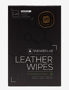 LW-Leather Wipes - skobeskyttelse - black