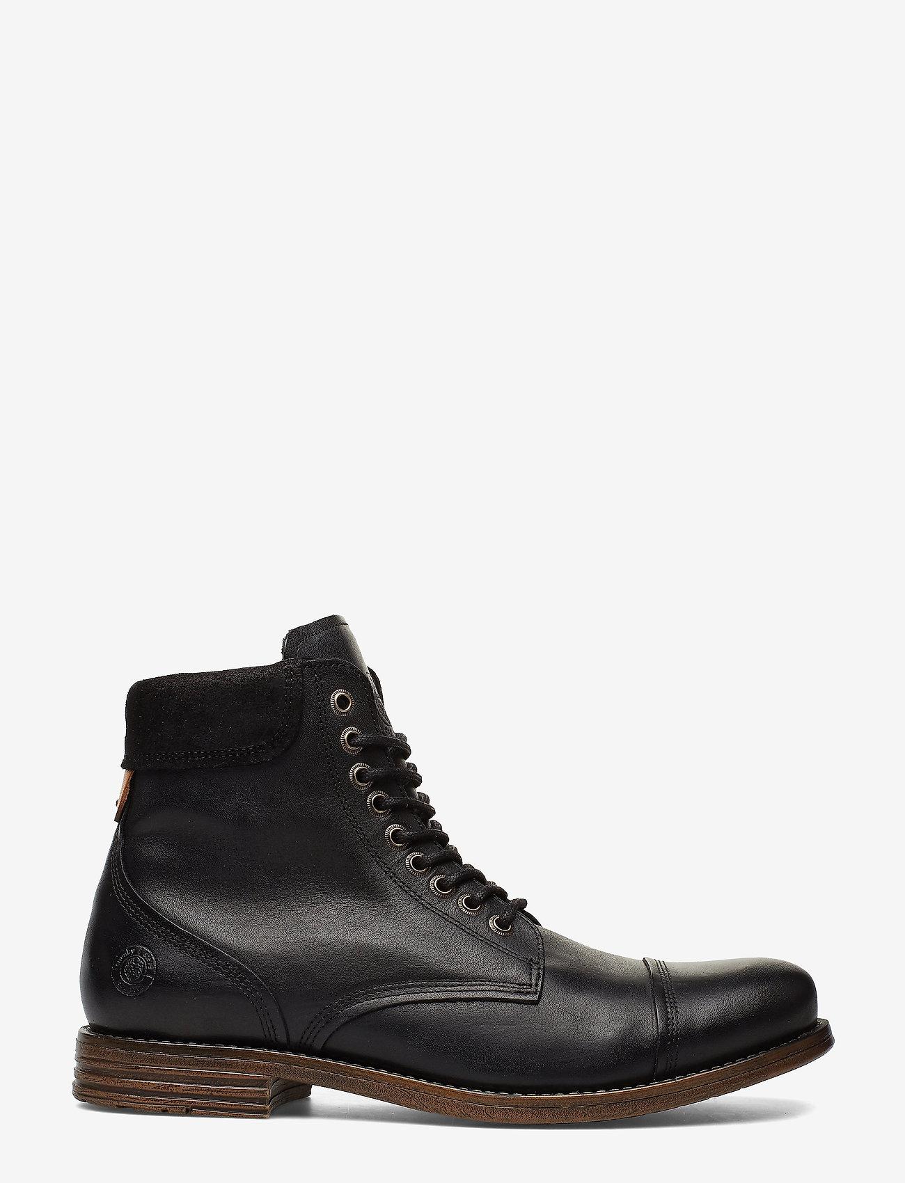 Sneaky Steve - Doverlake Leather Sh - buty zimowe - black - 1