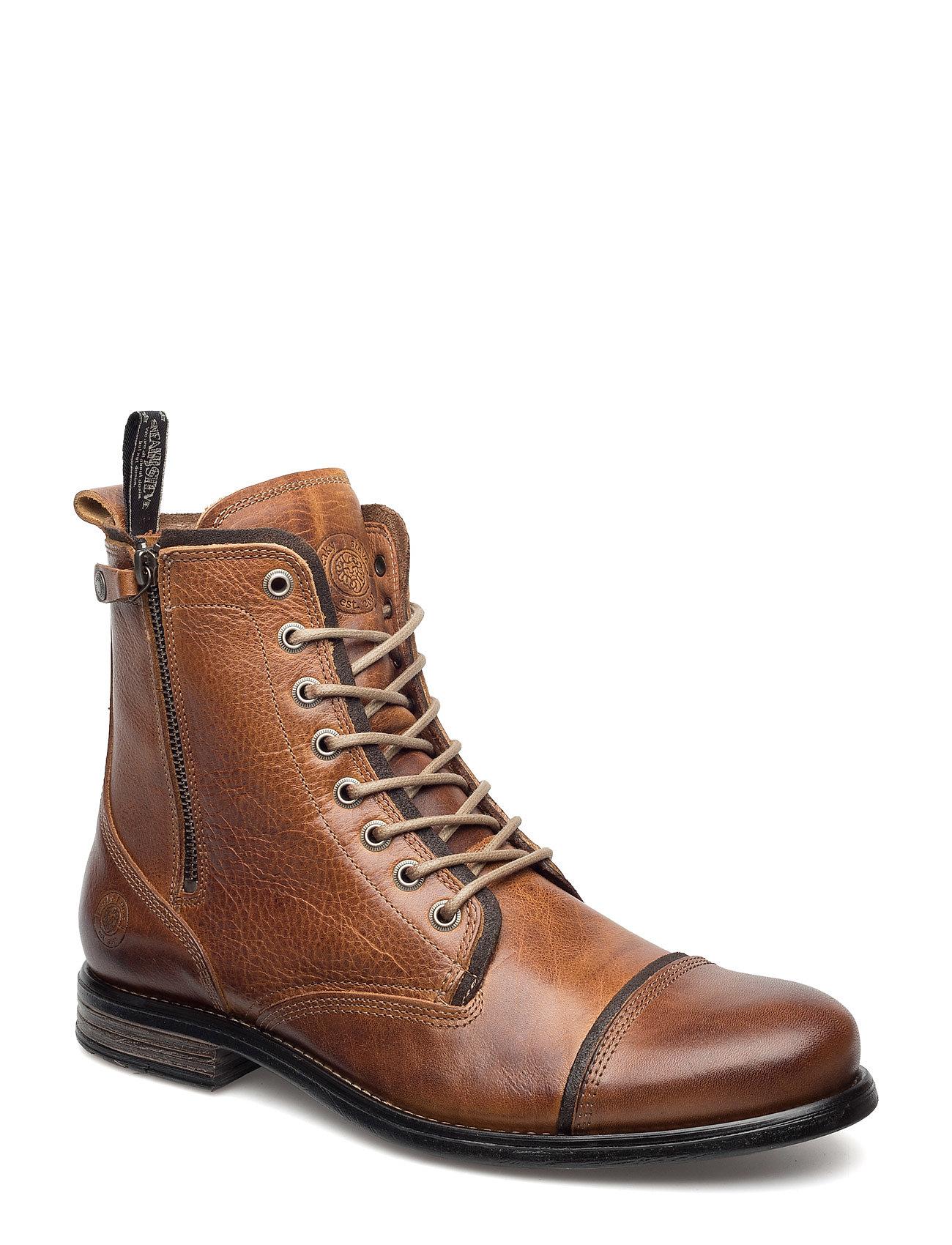 10.000 paar laarzen online Mjus hoge laarzen cognac