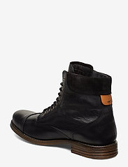 Sneaky Steve - Doverlake Leather Sh - buty zimowe - black - 2