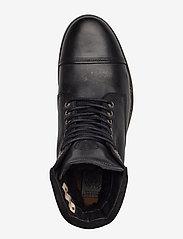 Sneaky Steve - Doverlake Leather Sh - buty zimowe - black - 3