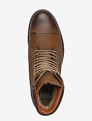 Sneaky Steve - Doverlake Leather Sh - buty zimowe - cognac - 3