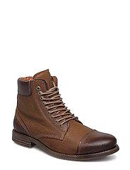 Doverlake Leather Sh - COGNAC