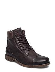 Doverlake Leather Sh - DK BROWN