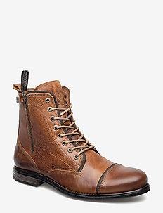 Fordham - vinter boots - cognac texas oil