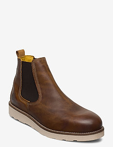 Idle Leather Shoe - COGNAC