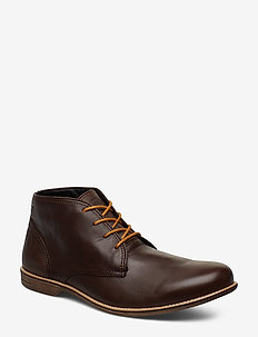 Fall Mid - laced boots - brown