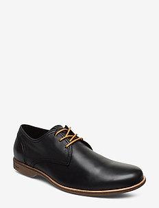 Fall Low - buty sznurowane - black