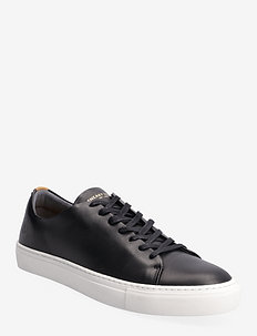 Less - låga sneakers - black