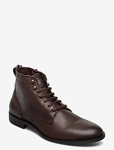 Solitude Leather Sho - BROWN