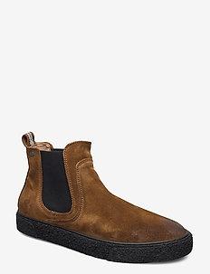 Sluggish - chelsea boots - tobacco