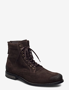 Delerius - laced boots - brown