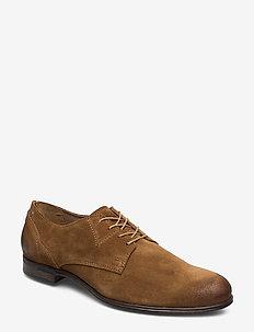 Dirty Low - buty sznurowane - tobaco