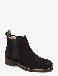 Halligan - chelsea boots - black