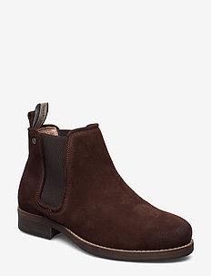 Halligan - chelsea boots - brown