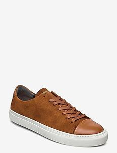 Lescape - laag sneakers - cognac