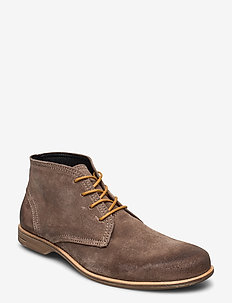 Fall Mid - desert boots - taupe
