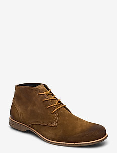 Fall Mid - desert boots - tobacco