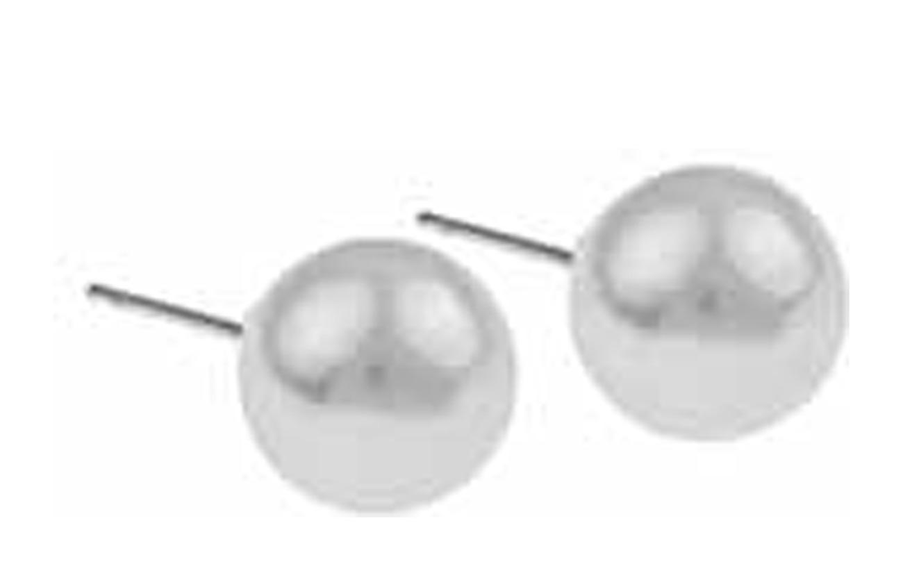 SNÖ of Sweden Laney pearl ear white 10mm - S/WHITE