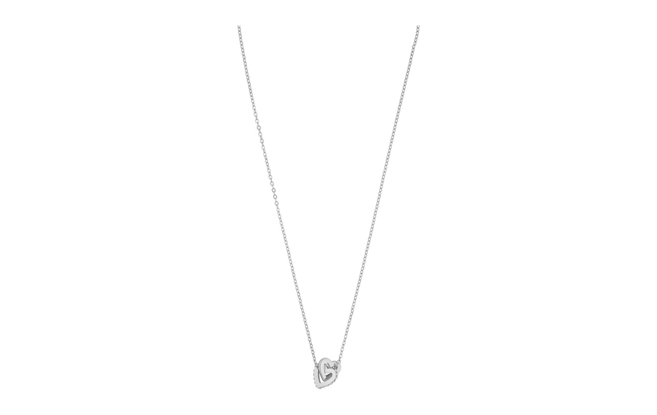 SNÖ of Sweden Connected pendant neck heart 42 s/clear - S/CLEAR