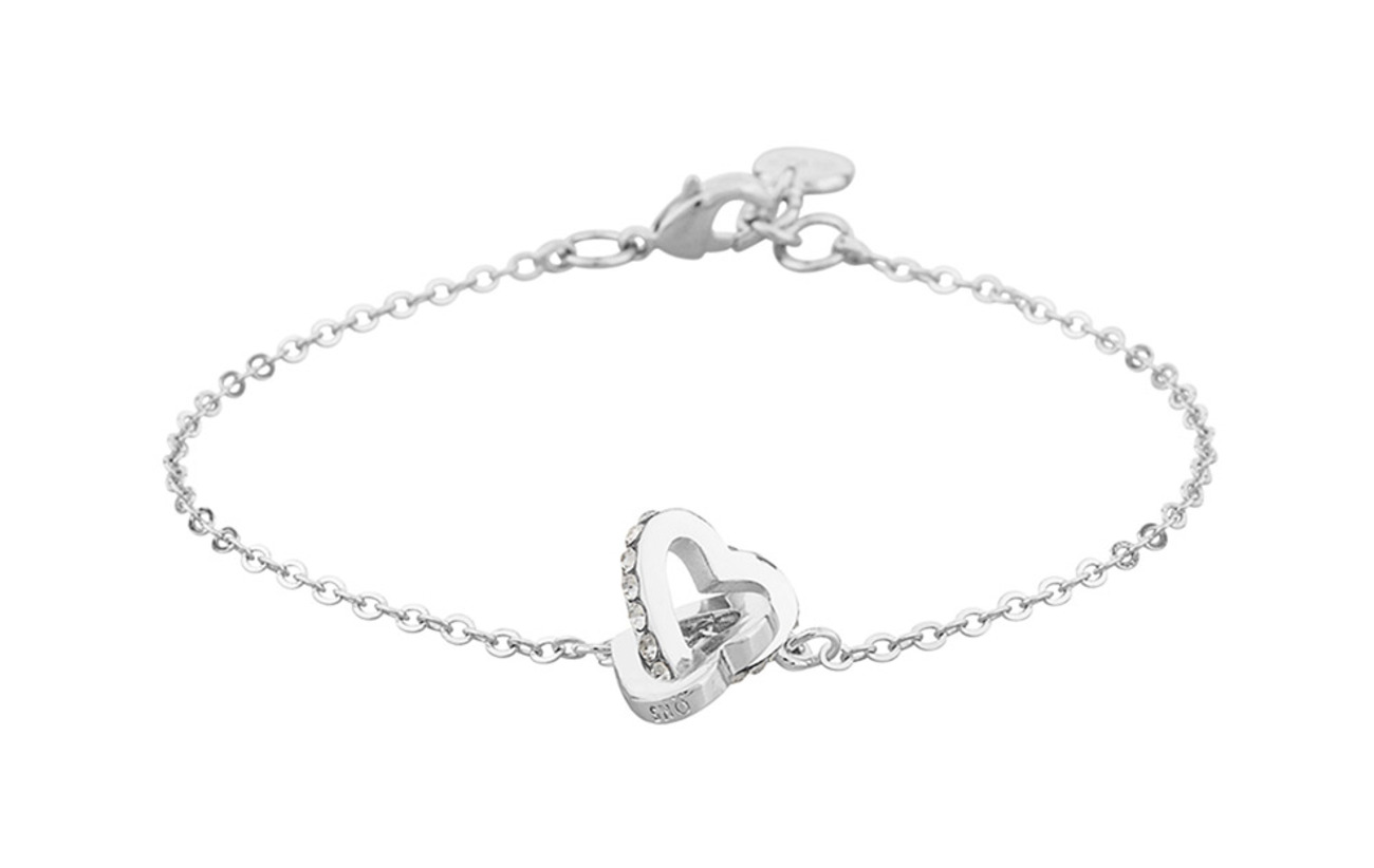 SNÖ of Sweden Connected chain brace heart s/clear - S/CLEAR