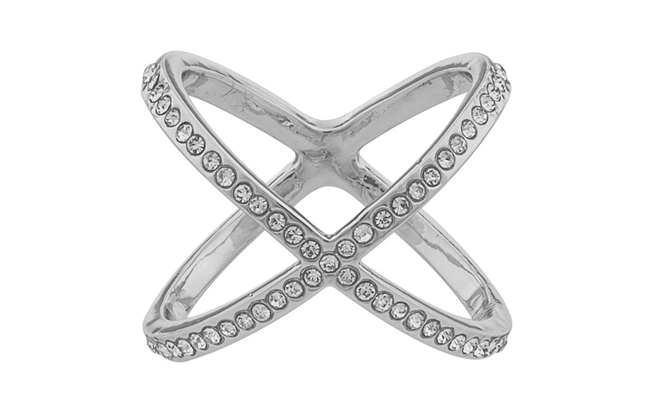 SNÖ of Sweden Lily ring M s/clear - S/CLEAR