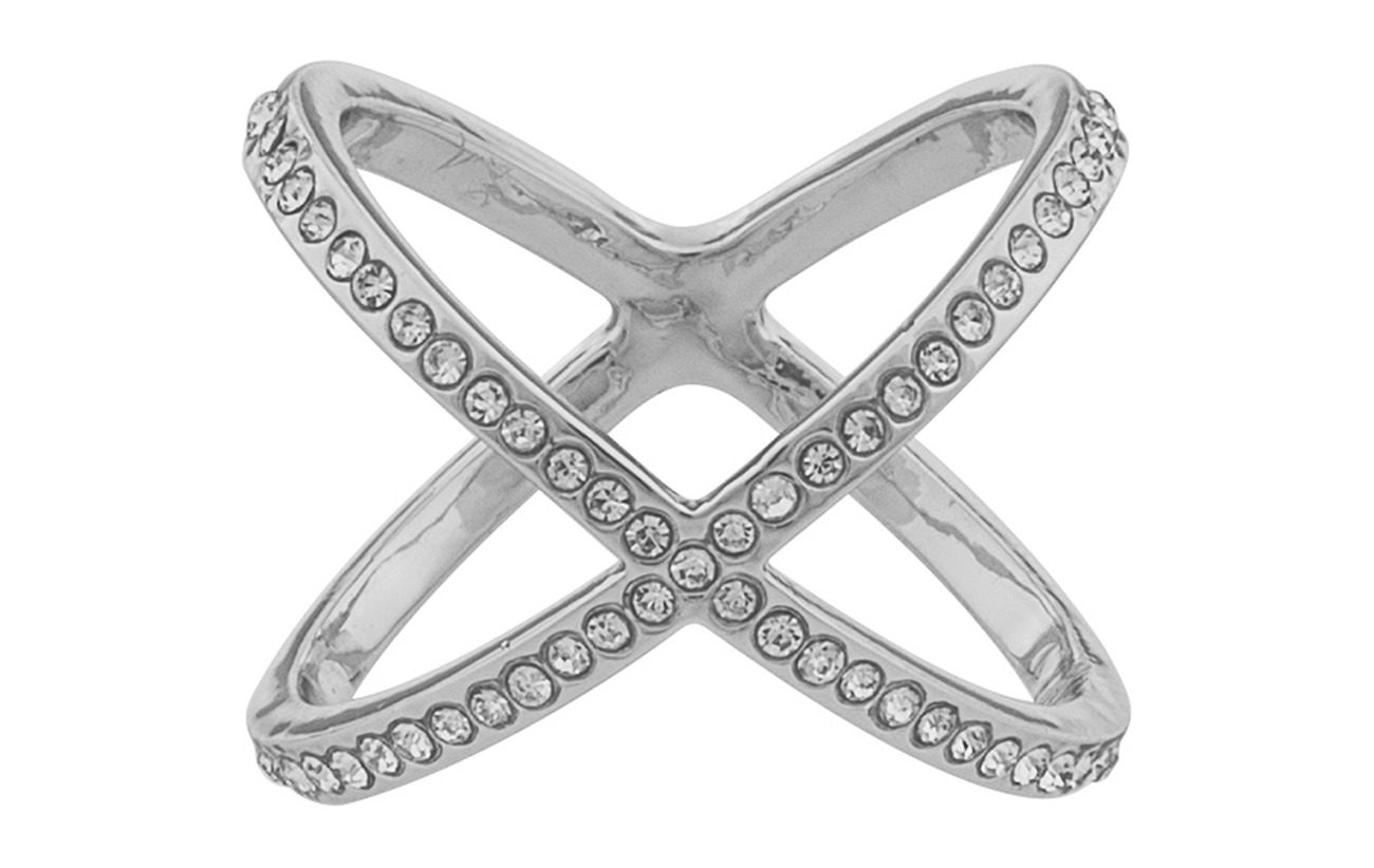 SNÖ of Sweden Lily ring L s/clear - S/CLEAR