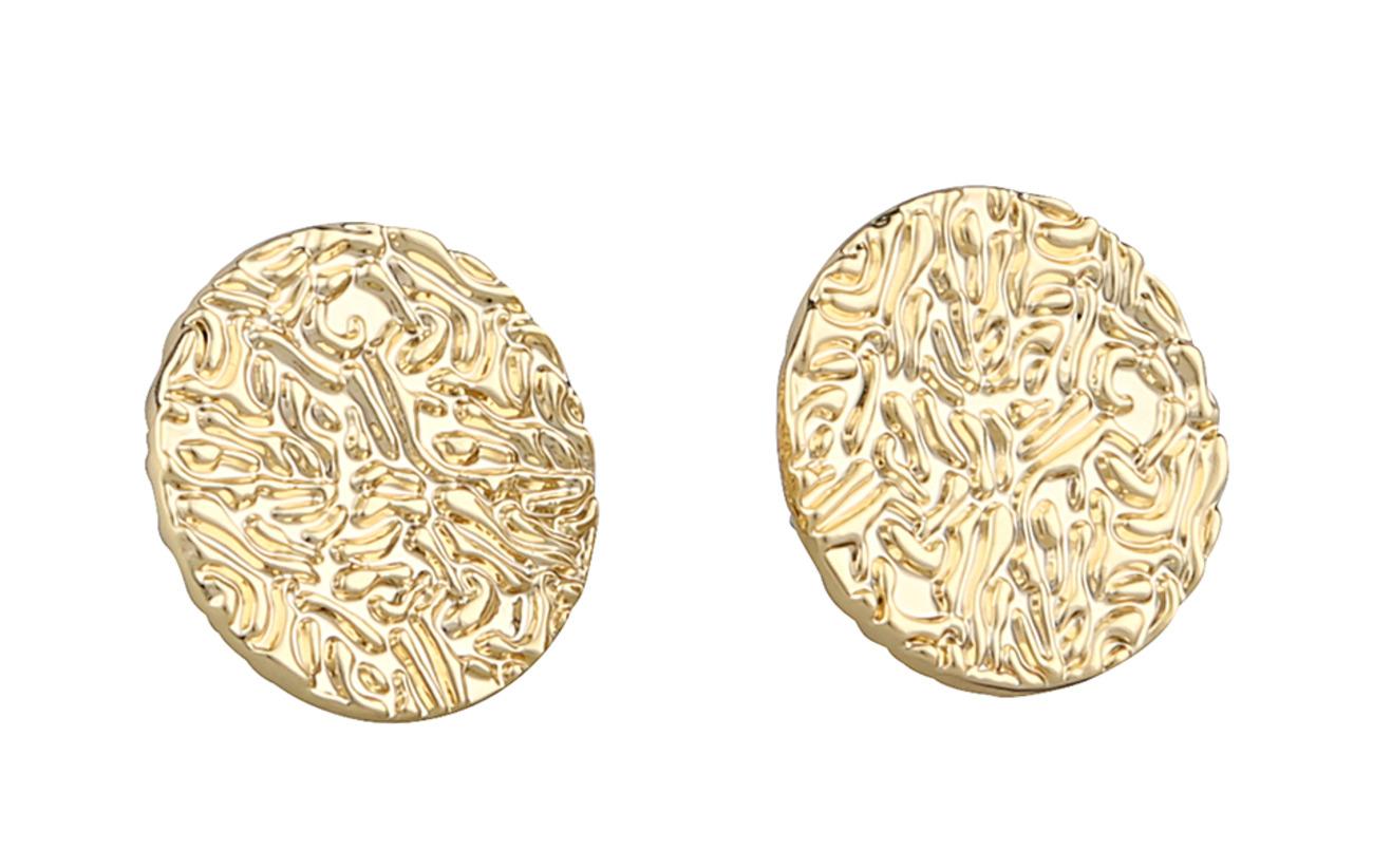 SNÖ of Sweden Penny coin ear plain g Smycken
