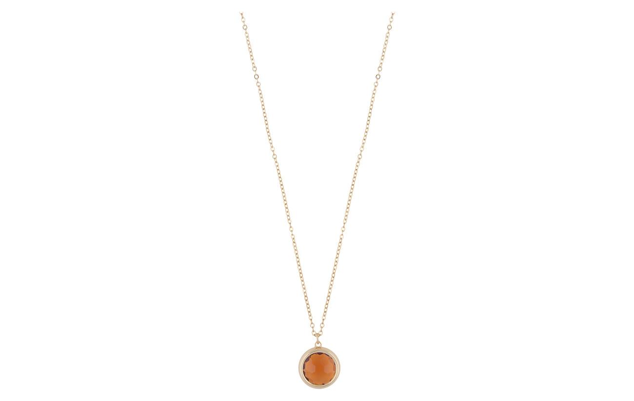 SNÖ of Sweden Eldina pendant neck 42 g/orange - G/ORANGE