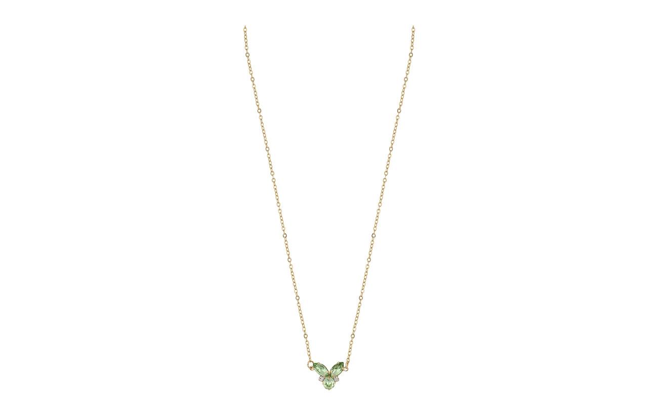 SNÖ of Sweden Luisa small pendant neck 40 g light grön Smycken