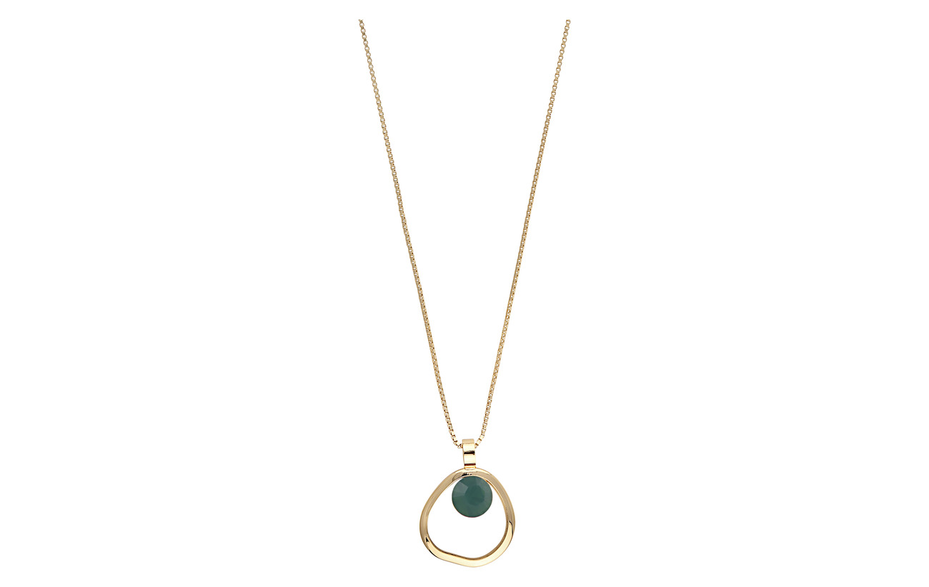 SNÖ of Sweden Liw globe pendant neck 42 g/green - G/GREEN