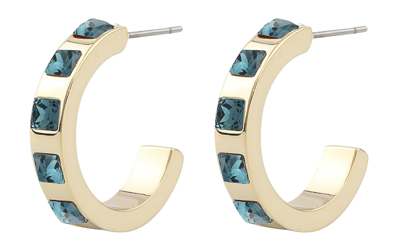 SNÖ of Sweden Nocturne small oval ear - G/JEANS BLUE