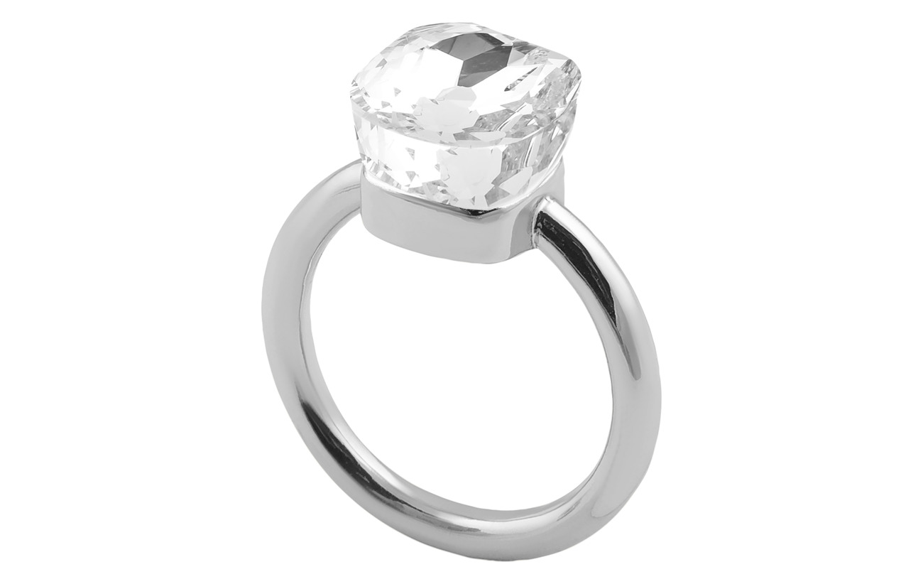 SNÖ of Sweden Nocturne small ring - S/CLEAR