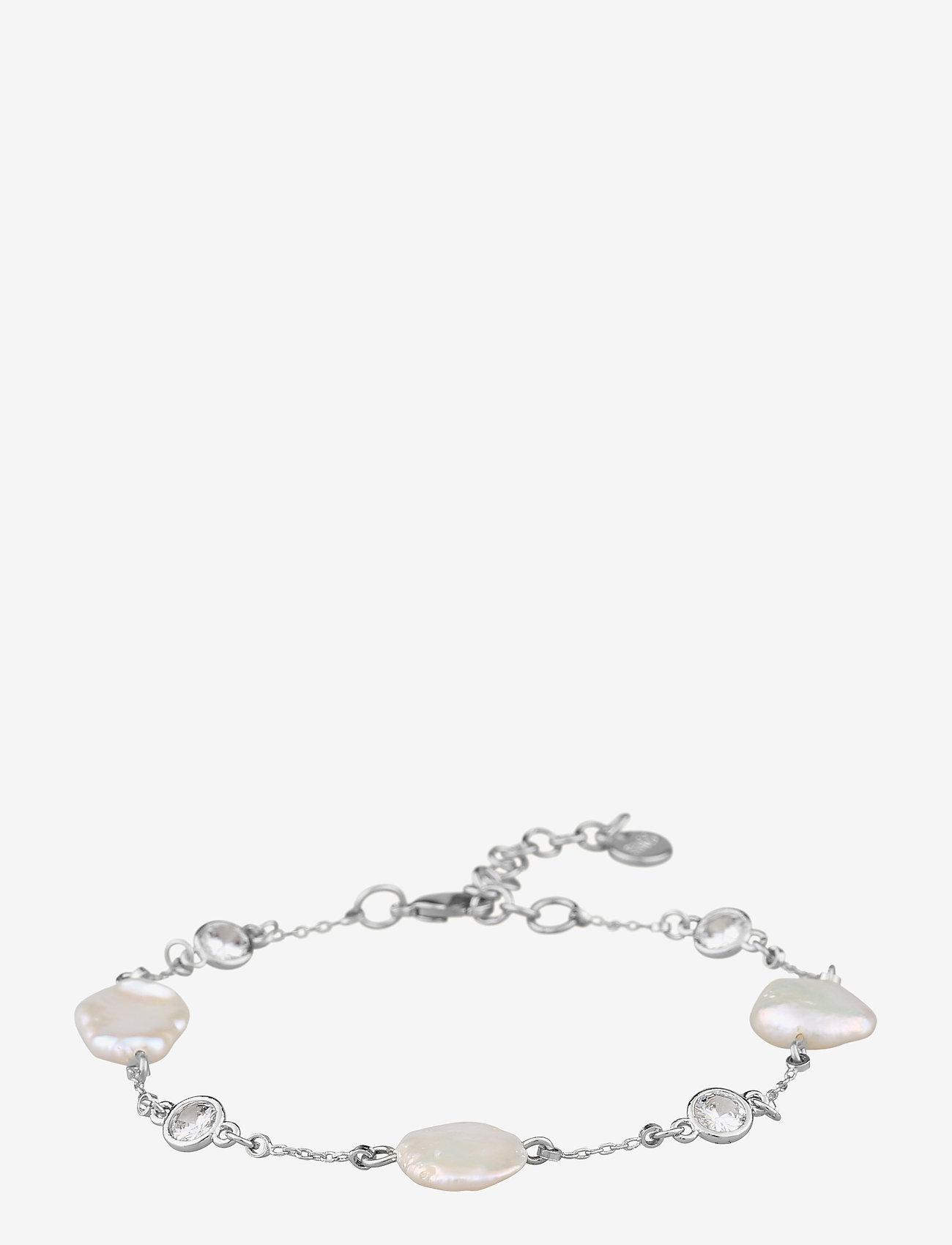 SNÖ of Sweden - Shape pearl brace - dainty - s/white - 0